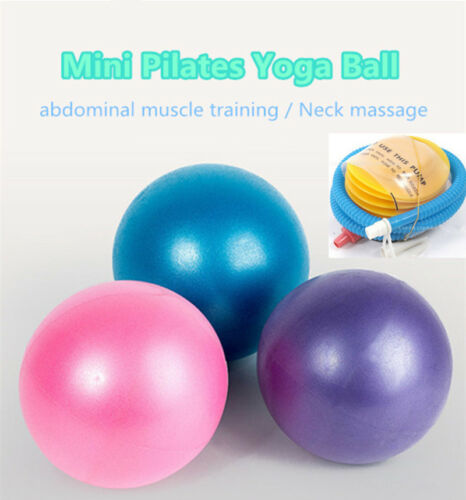 Yoga Ball 25cm Soft Pilates Stability Ball for Core Exercise Pump Sale