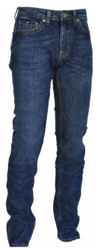 Albert Jeans Herren Junge Five Taschen Slim Fit Reißverschluss Knopf Gas Art