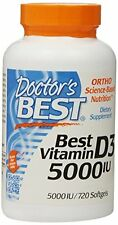 Doctor's Best Vitamin D3 5000 IU Soft Gels 720 Count
