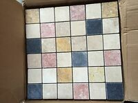 Travertine Mixed Mosaic 2x2 Tile....1 Sq Foot Meshed Sheets