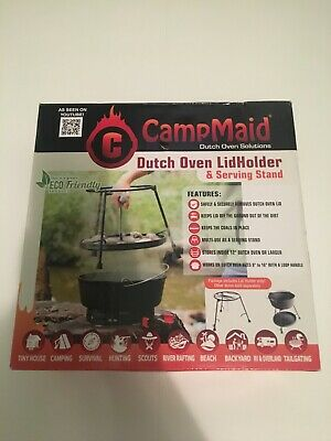 herramienta para horno holand/és de campamento Soporte para tapa