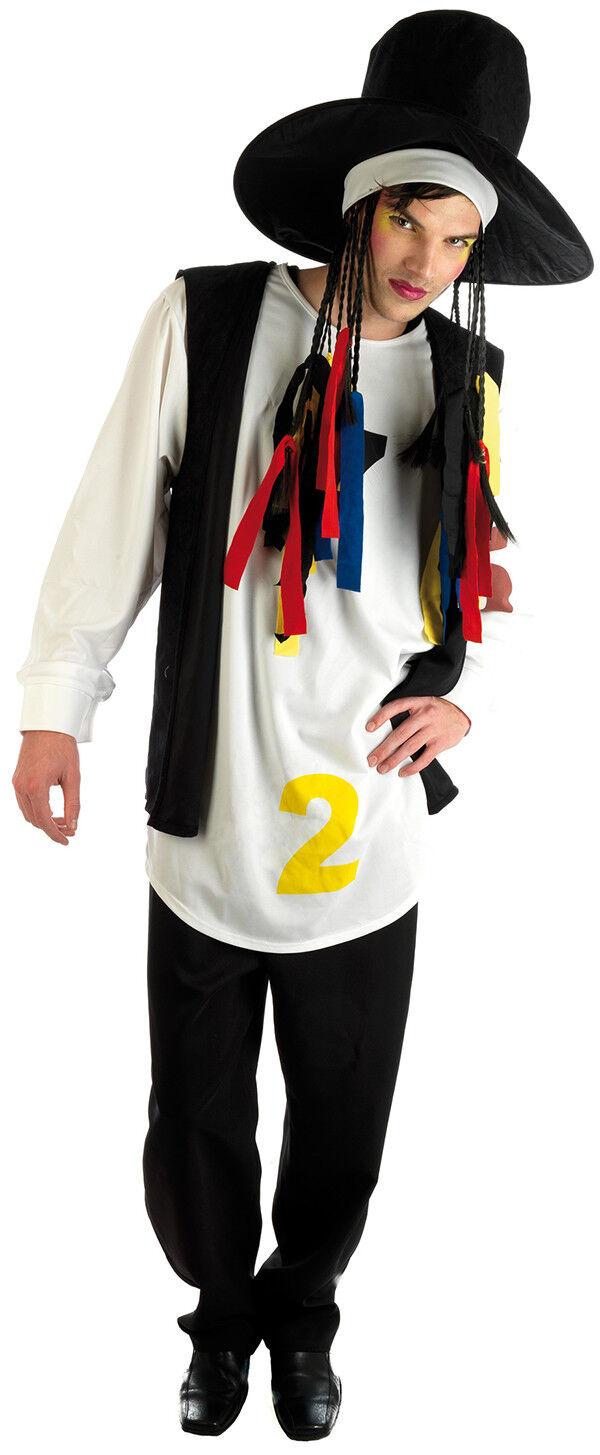 80'S POP STAR MUSICAL FANCY DRESS COSTUME COSTUME COSTUME | Genialität  | Verwendet in der Haltbarkeit  | Genialität  d2e856