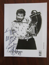 JO EL SONNIER   8x10 photo AUTOGRAPHED cajun accordion