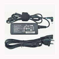 Ac Adapter Cord Charger For Asus Eee Pc 1005hab-rblu001x 1005ha-pu1x-bu Netbook