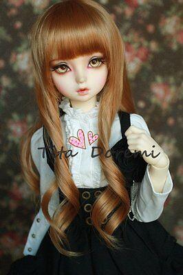1 //4 7-8 Bjd Wig BJD MSD DD DOC SD DZ PULLIP DOD LUTS Dollfie Doll wigs blonde