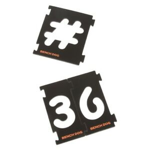 Bench-Dog-Tools-Numbering-Sign-Kit-31-Piece-Signmakers-Router-Stencil-Template