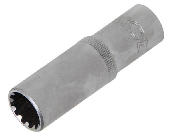 BGS Steckschlüssel-Einsatz Gear Lock, tief   Antrieb Innenvierkant 10 mm 10353