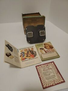 Vintage-Sawyer-039-s-View-Master-Stereoscope-Viewer-original-box-as-is-used-TN