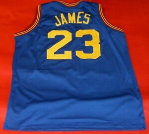 fe8a1792e01b Image is loading LEBRON-JAMES-CUSTOM-CLEVELAND-CAVALIERS-THROWBACK-JERSEY