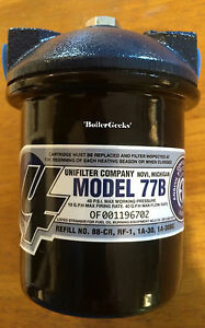 General Unifilter Model 77b Fuel Oil Filter Complete 1a
