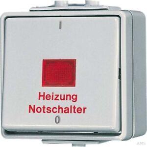Jung-Interruttore-di-Emergenza-Riscaldamento-di-2-polig-602-Hw