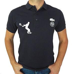 f58965796 Lacoste Roland Garros Paris Men's Classic Fit Polo Shirt, Short ...