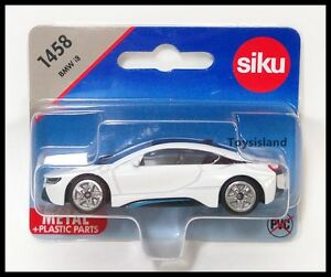 Siku 1458 Bmw I8 Coupe Diecast Car Gift Scale About 1 64 New White