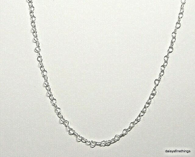 Authentic Pandora Necklace Silver Joined Love Hearts Linked Chain 397961 60 Cm For Sale Online Ebay