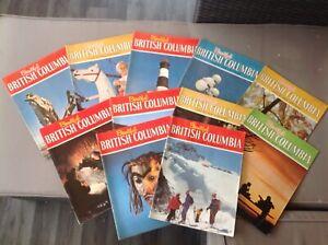 Set-of-11-VINTAGE-Beautiful-British-Columbia-magazines-1968-73