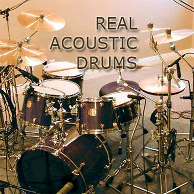 DRUMS Acoustic Studio Real - Huge 24bit Samples/groove Production Library on DVD