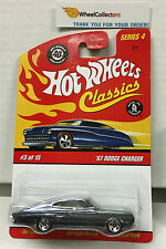 '67 Dodge Charger * Dark Purple * Classics Hot Wheels * N113