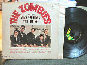 039-65-THE-ZOMBIES-PARROT-PA-61001-MONO-LP-featuring-she-039-s-not-there-oop-orig-RARE