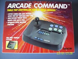 Arcade Command Table X Controller Joy Stick Sega Genesis Control - Doc's video games