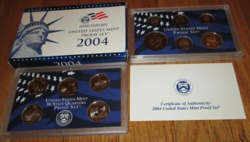 1999 to 2007 Proof Set 99 00 01 02 03 04 05 06 07  Proof set 9 sets Box /& COA