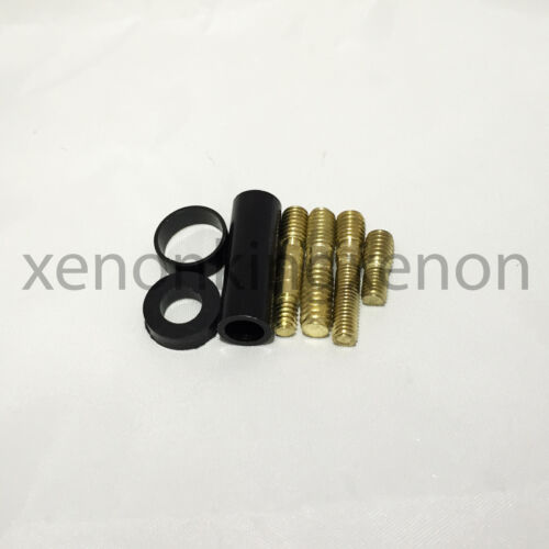 """JDM Style Short RED 5/"""" in//127 mm Carbon Fiber Screw Type Antenna #r17 Vehicle"""