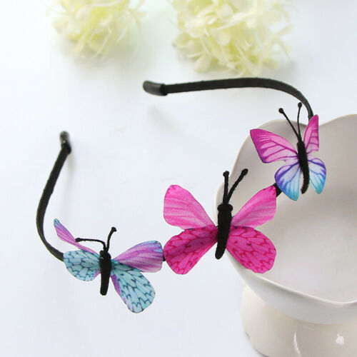 Colorful Kids Cute Hairband Butterfly Accessories Hair Hoop Band Headband Girls