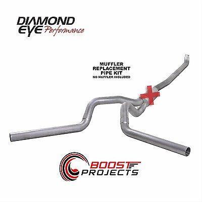 "Diamond Eye 4/"" Aluminized TurboBack Exhaust System K4218A"