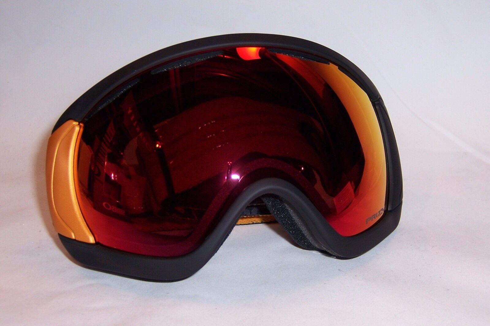 5c715e1fde44 Oakley Snow Goggles Canopy Prizm Oo7047-76 Black torch Aksel Lund ...
