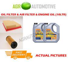 PETROL OIL AIR FILTER + LL 5W30 OIL FOR MERCEDES-BENZ C180 1.8 122 BHP 1993-00