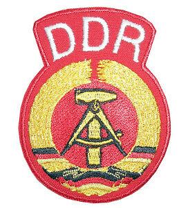 Patch-034-Aufnaeher-034-Aufbuegler-034-DDR-Logo-034