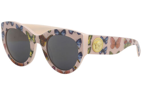 Versace Women/'s VE4353 VE//4353 5286//87 Butterfly//Pink Square Sunglasses 51mm