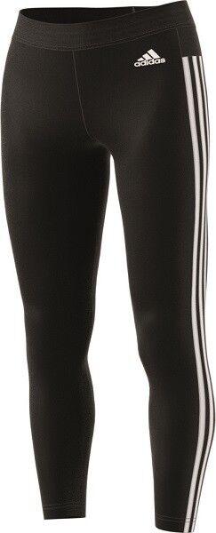 Adidas Essentials 3 Streifen Tight Fitness Laufen Training Hose, BS4820