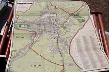 23209  Landkarte Stadtplan ZITTAU 1955 farbig mit Straßenverzeichnis 1:10.000