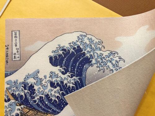 The Great Wave off Kanagawa Print Hokusai Canvas Print Small Home Decor 8x10