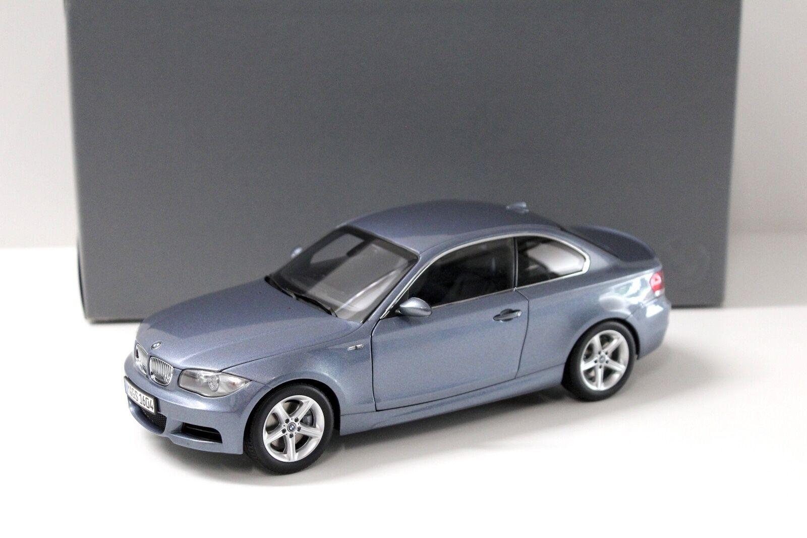 Bmw 1er coupé kristallBlau 1,18 kyosho e82 händler neue bei premium-modelcars
