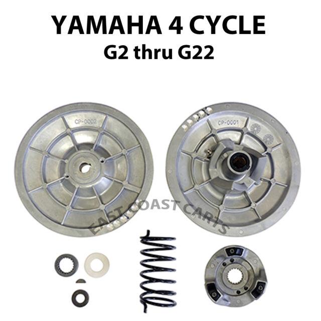 Yamaha Golf Cart Secondary Driven Clutch Kit G2 Thur G22