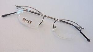 Trenti Aussergewohnliche Halbrand Brille Damen 45 17 Trendy Stylish Silber Gr S Ebay