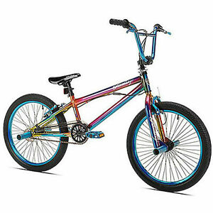 20-in-Kent-Fantasy-BMX-Pro-Bike-Freestyle-Bicycle-Steel-Frame-1-Speed-Blue-NEW