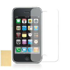 Apple iPhone 3G 3GS  Clear Screen Protectors (Premium Quality) + 6 Free Cloths