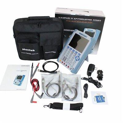 Free Express Hantek Handheld DSO8060 60MHz 5in1 Oscilloscope Waveform DMM
