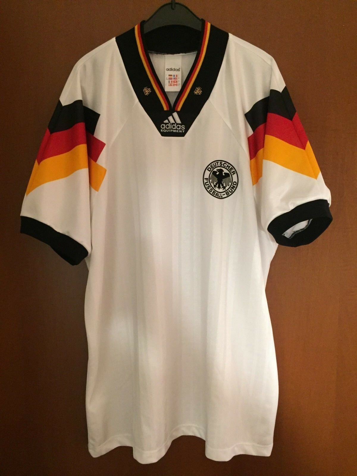 Maglia Shirt Maillot Trikot Camiseta Germania Germany Deutschland Euro 92