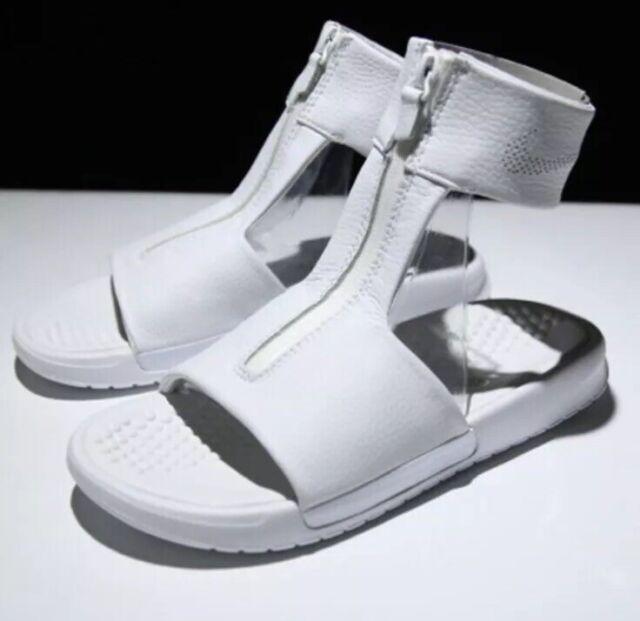 Nike Air Max NikeLab Benassi Cuff Lux Womens Sandals Sz 7