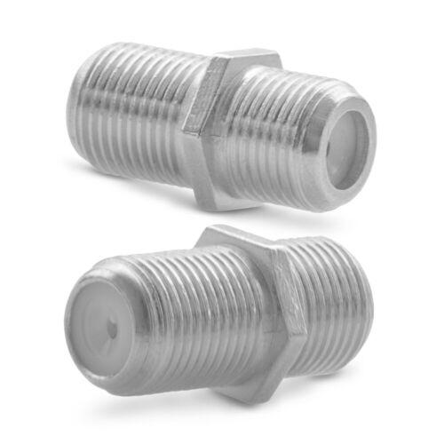 F-Verbinder Sat Buchse Antennen Kabel Verlängerung  4x Adapter Kupplung Koaxial