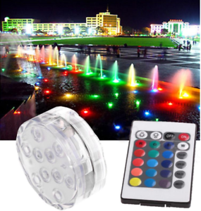 Nice 4 Led Floating Underwater Disco Light Glow Show Swimming Pool Hot Tub Spa Lamp Attractive Appearance Led Underwater Lights