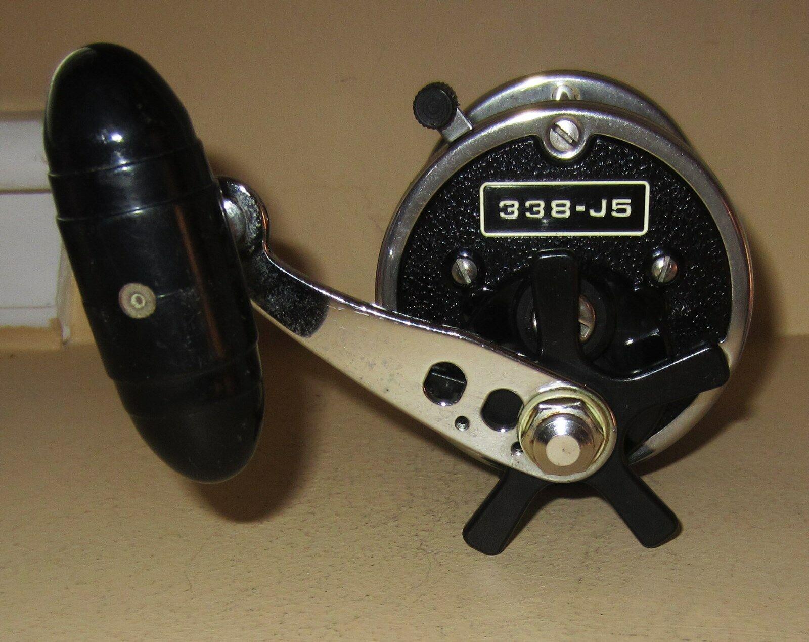 Vintage Cochel Newell convencional Reel De Pesca Modelo 338-J5