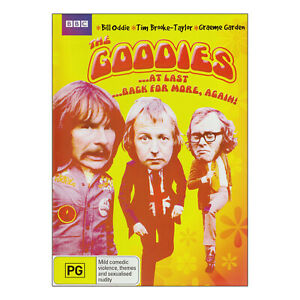 The-Goodies-At-Last-Back-For-More-Again-DVD-2-Disc-Set-New-8-Best-Episodes