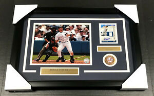 Details About Jorge Posada New York Yankees Signed Autographed Card W 8x10 Photo Framed