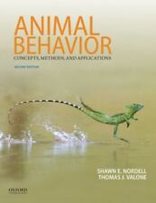 Animal Behavior : Concepts, Methods, and Applications by Shawn E. Nordell and Thomas J. Valone (2016, Paperback)