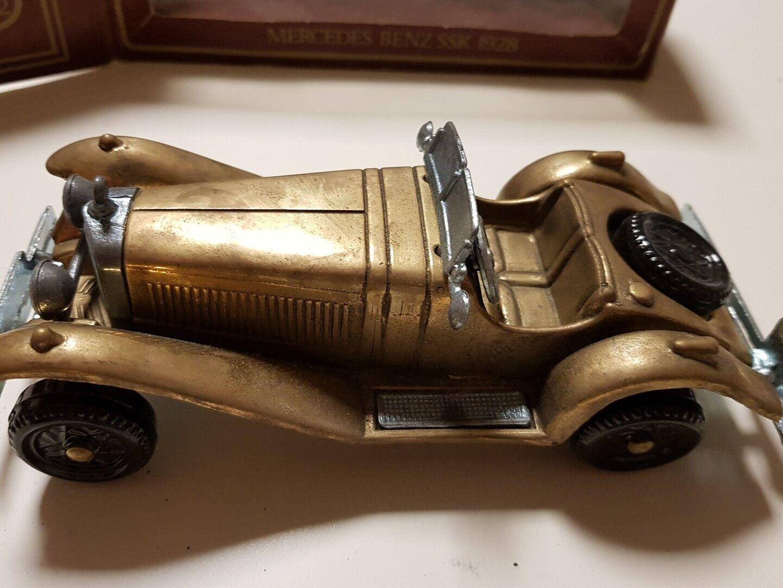 Mercedes Benz SSK 1928 Brass Made in