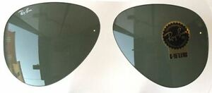 2e17846b05 LENSES SPARE PART RAY BAN 3026 62 AVIATOR GREEN REPLACEMENT GAFAS ...